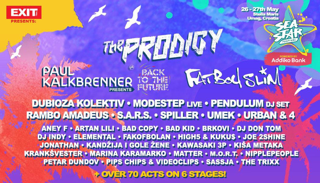 SeaStar Festival Complete Lineup